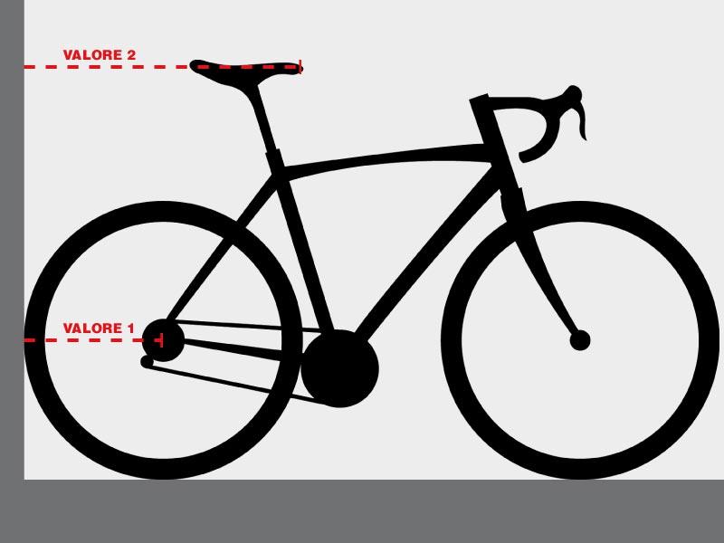 Posizionamento sella in bici Moretti Bassano