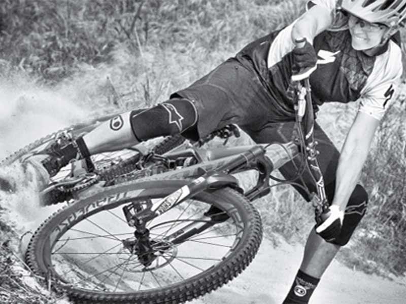 Off-Road e MTB con i pedali Hybrid Crank Brothers Moretti Bassano