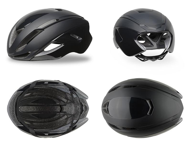 Nuovo casco Evade S-works, Moretti Bassano