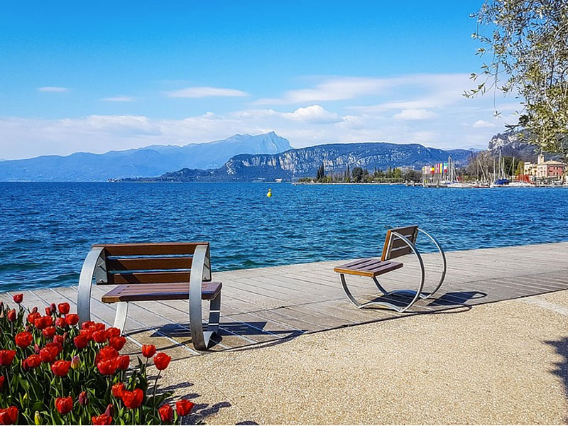 Fino al Lago di Garda in bicicletta. Moretti Bassano.