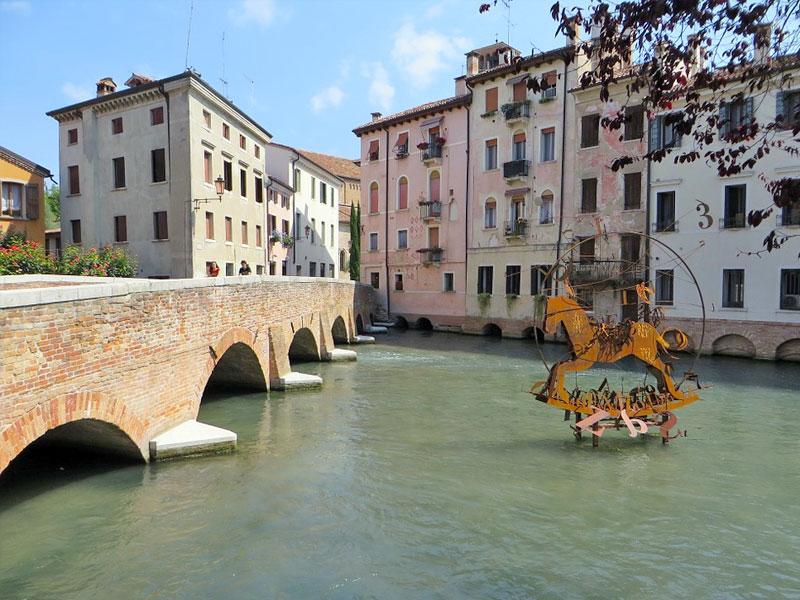 Da Treviso la Restera ti porta fino al mare in bicicletta. Moretti Bassano.