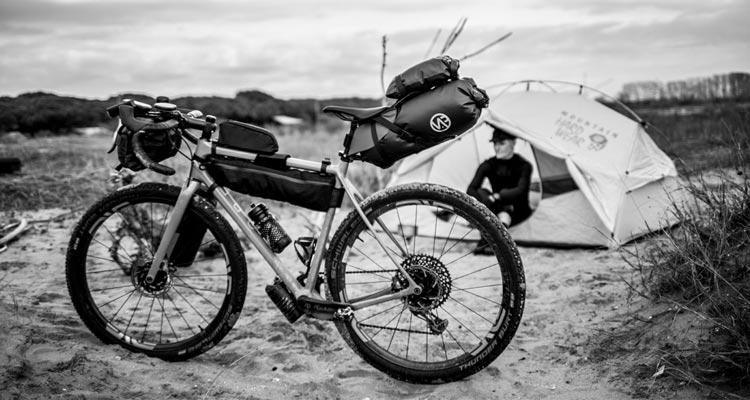 Vap Cycling: borse da bikepacking. Moretti Bassano