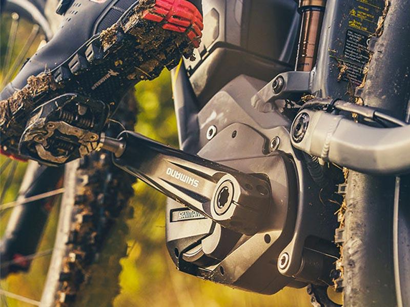 Motore Shimano Steps E7000: il concetto e-bike Husqvarna. Moretti Bassano.
