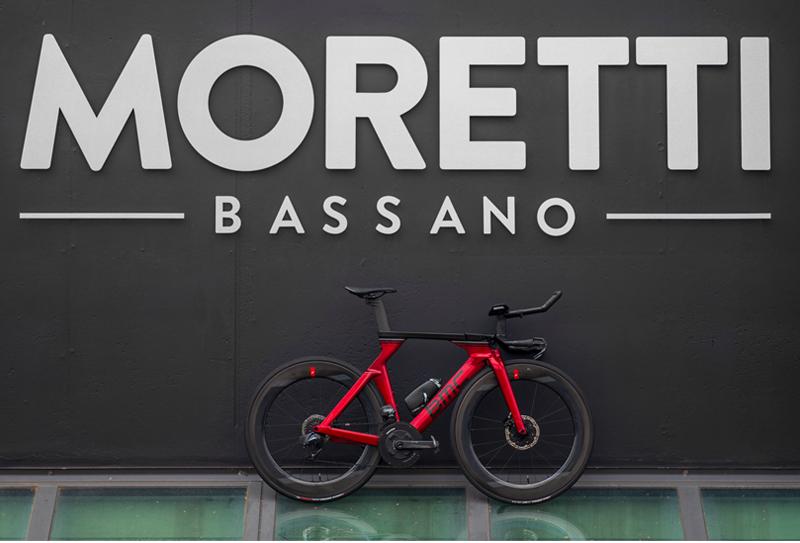 Una macchina da Triathlon: BMC Time Machine 01 Disc. Moretti Bassano.