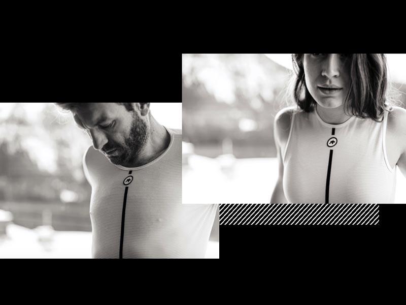 Assos Skin Layer è disponibile per uomo e donna. Moretti Bassano.